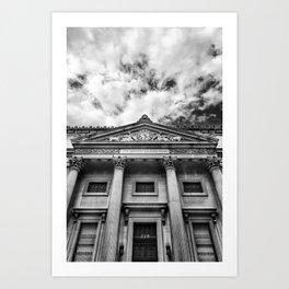 The Bowery Savings Bank Art Print