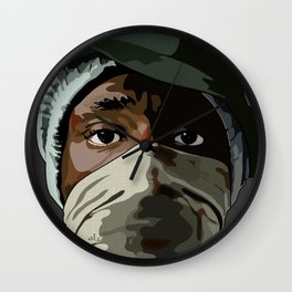 Hip Hop Mos Wall Clock
