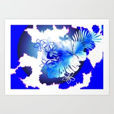 Boho Global Hot Art Print