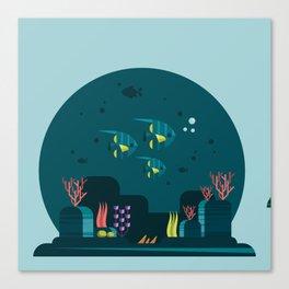Sealife Canvas Print