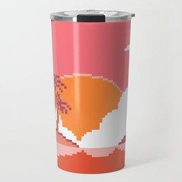 Sunset on Coco Island Travel Mug