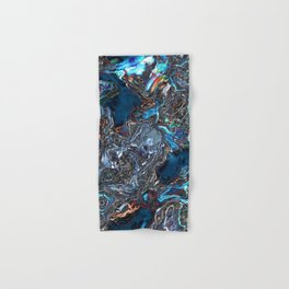 Abstract Waves of Color Hand & Bath Towel