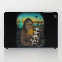 i want to believe iPad Cases featuring I Want to Believe by Andy Pitts