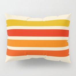 Abstract Minimal Retro Stripes 70s Style - Nagatane Pillow Sham