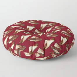 Aussie Sausage BBQ in Red, Small Floor Pillow