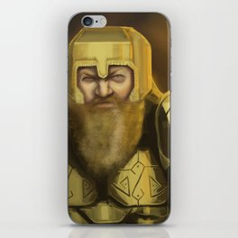Scowl iPhone Skin