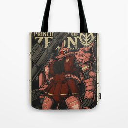 Principallity of ZEON Tote Bag