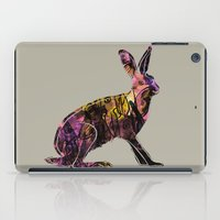 hare iPad Cases featuring Hare by MACACOSS