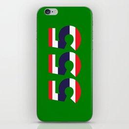 555  Thai flag iPhone Skin