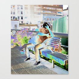"""High Line Love"" Canvas Print"