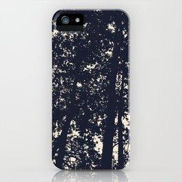Silhouette skies iPhone Case