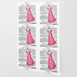 Regency Fashion Plate 1819, La Belle Assemblee Wallpaper