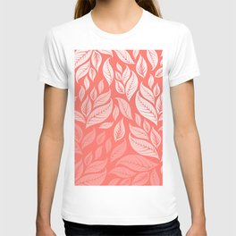 LIVING CORAL LEAVES 2 T-shirt