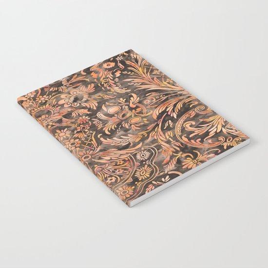Damask Pattern 04 Notebook