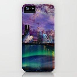 Surreal Cityscape iPhone Case