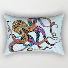 Electric Octopus Rectangular Pillow