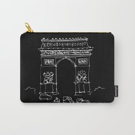 Arc De Triomphe BW Carry-All Pouch
