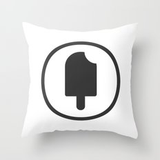 Fudgesicle! Throw Pillow