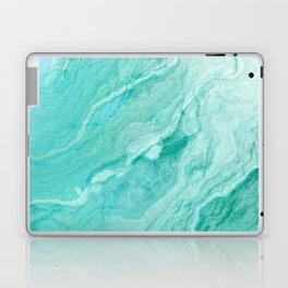 Azure marble Laptop & iPad Skin