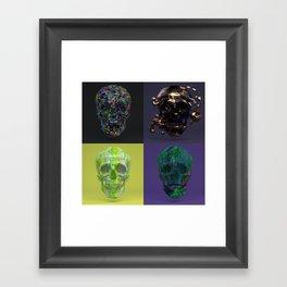 Skull Collection 01 Framed Art Print