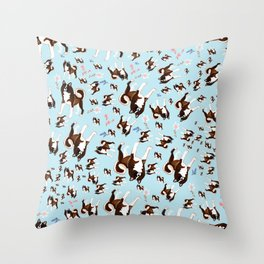 American Akita Throw Pillow