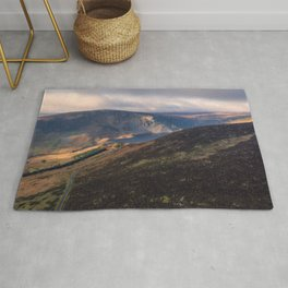 Lough Tay from above, Ireland (RR 348) Rug