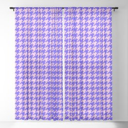 New Houndstooth 02191 Sheer Curtain
