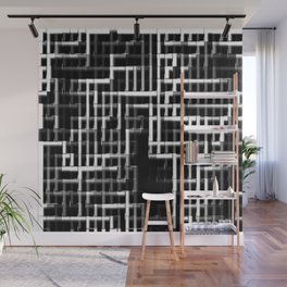 Pipes monochrome Wall Mural
