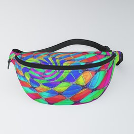 Tumbler #33 Trippy Psychedelic Optical Illusion Design by CAP Fanny Pack