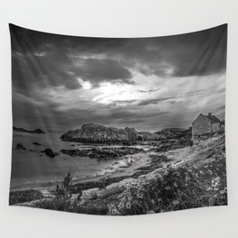 Balintoy Harbour, Ireland Wall Tapestry