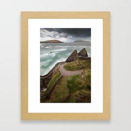 Dunquin Pier,Kerry,Ireland Framed Art Print