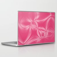 bow Laptop & iPad Skins featuring Bow by AlexinaRose