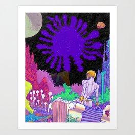 Planet Satan 2 Art Print