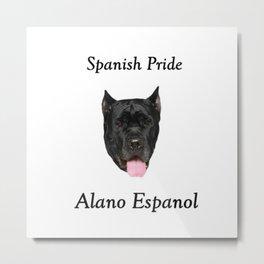 Alano Espanol Metal Print