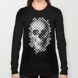 Wicker Skull Long Sleeve T-shirt
