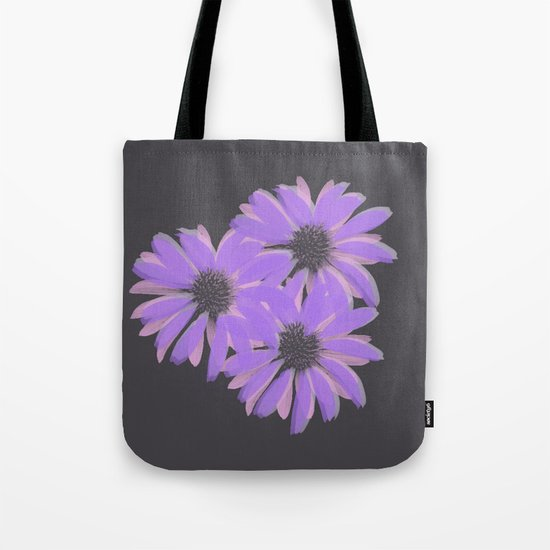Painterly Floral Trio Tote Bag