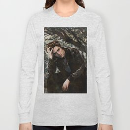 Robert Pattinson FAME comic book cover - Twilight Long Sleeve T-shirt