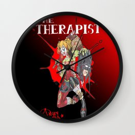 The Therapist Wall Clock