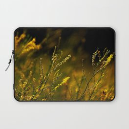 Amber Fiels of Gold... Laptop Sleeve