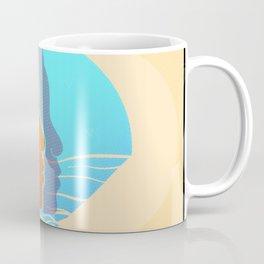 Blue summer sunset Coffee Mug