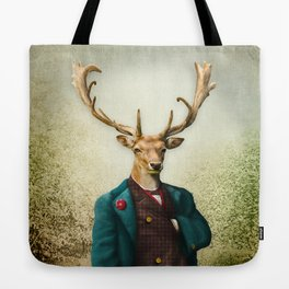 Lord Staghorne in the wood Tote Bag