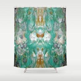 Marbled Dream Shower Curtain
