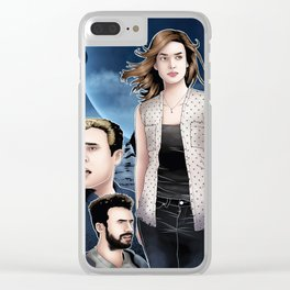 Maveth - 4,722 Hours Clear iPhone Case
