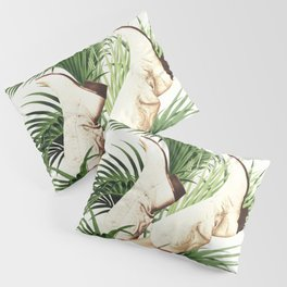 These Boots - Palm Leaves Pillow Sham