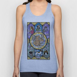 The Adoration of the Squirrel Unisex Tank Top