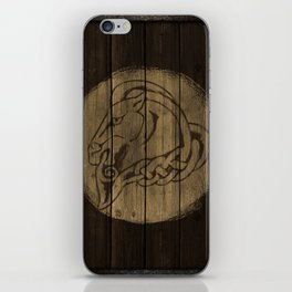 Horse Shield iPhone Skin