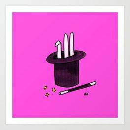 Society6 / Abracadabra ! Art Print