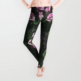 Rosas Moradas 2 Kaleidoscope 11 Leggings