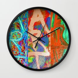 The Impatient Artist Wall Clock