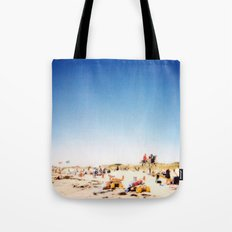 New York Summer at the Beach #1 Tote Bag